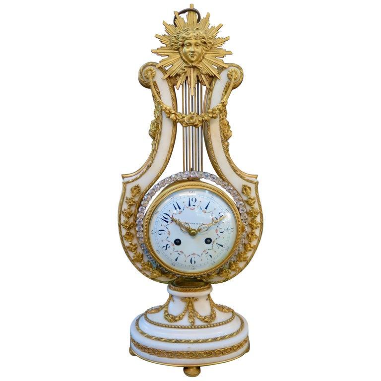 Vintage Tiffany & Co. Empire Clock For Sale