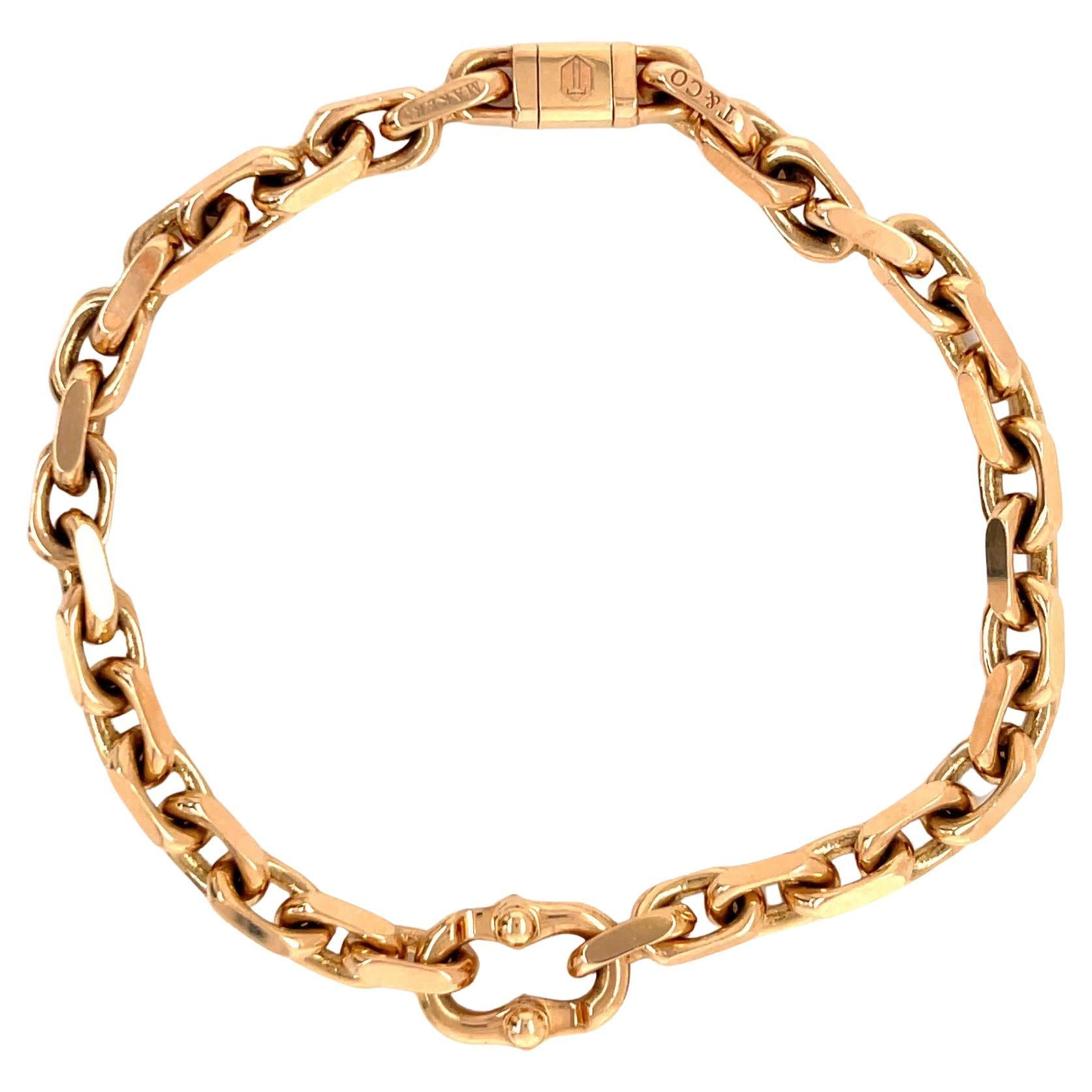 Vintage Tiffany & Co. Germany 18 Karat Rose Gold Bracelet