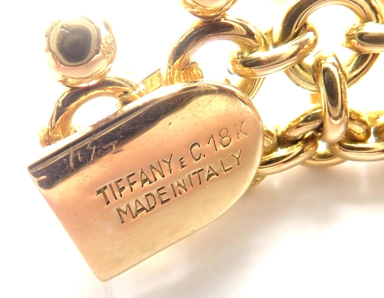 Vintage Tiffany & Co. Ruby Collar Yellow Gold Necklace For Sale 5