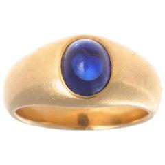 Vintage Tiffany & Co. Sapphire Gypsy Ring
