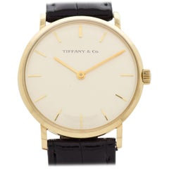 Vintage Tiffany & Co. Service Watch in 14 Karat Yellow Gold, 1969