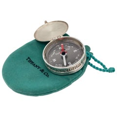 Vintage Tiffany & Co. Sterling Silver Atlas Compass