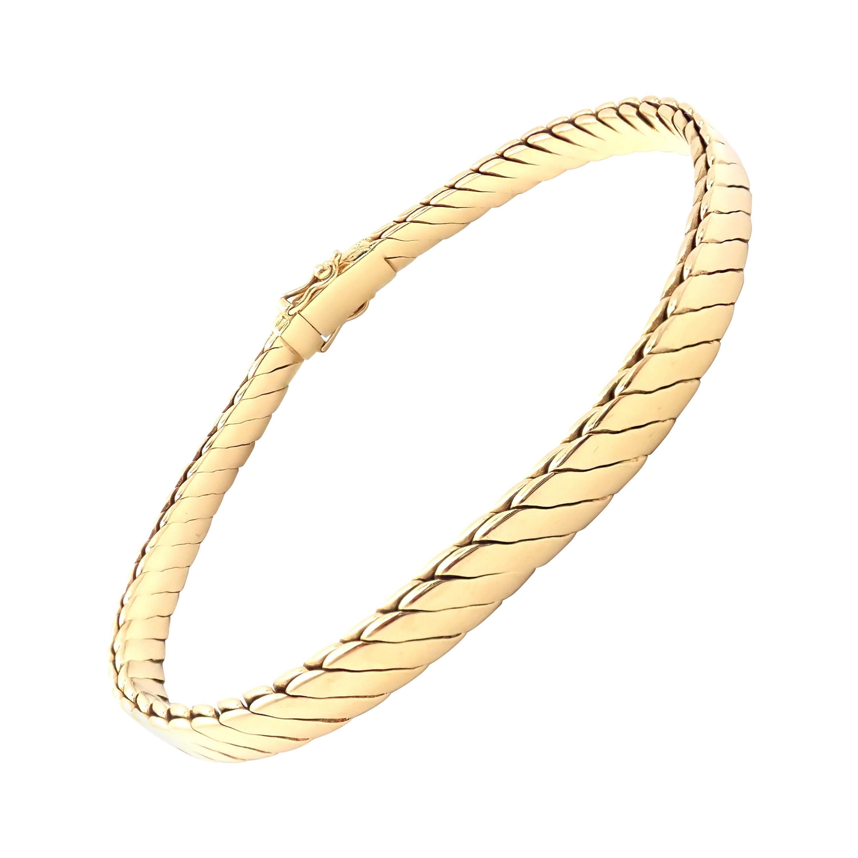 Vintage Tiffany & Co Yellow Gold Link Bracelet