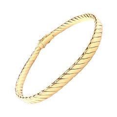 Vintage Tiffany & Co Yellow Gold Link Bracelet