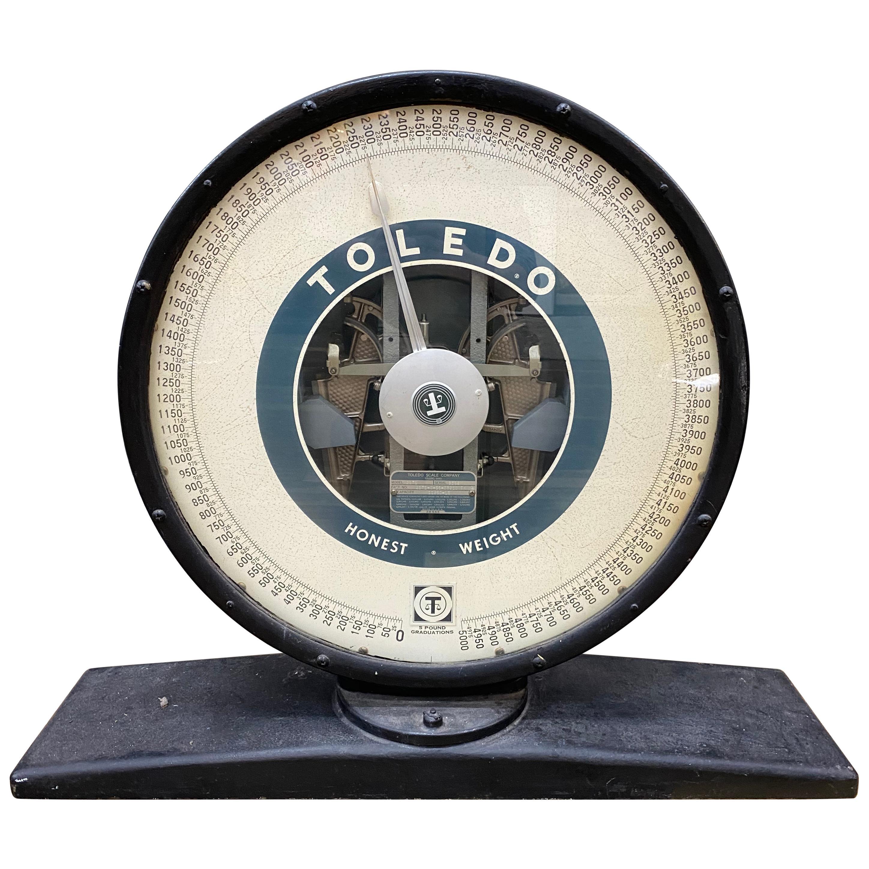 Vintage Toledo Scale Top