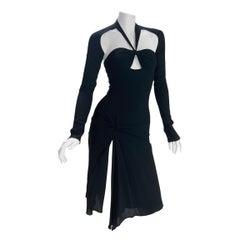 VINTAGE TOM FORD for GUCCI BLACK DRESS