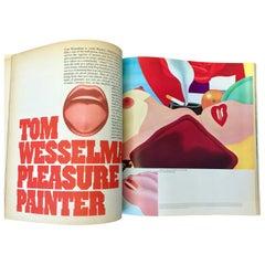 Vintage Tom Wesselmann Avant Garde 'Magazine', 1968