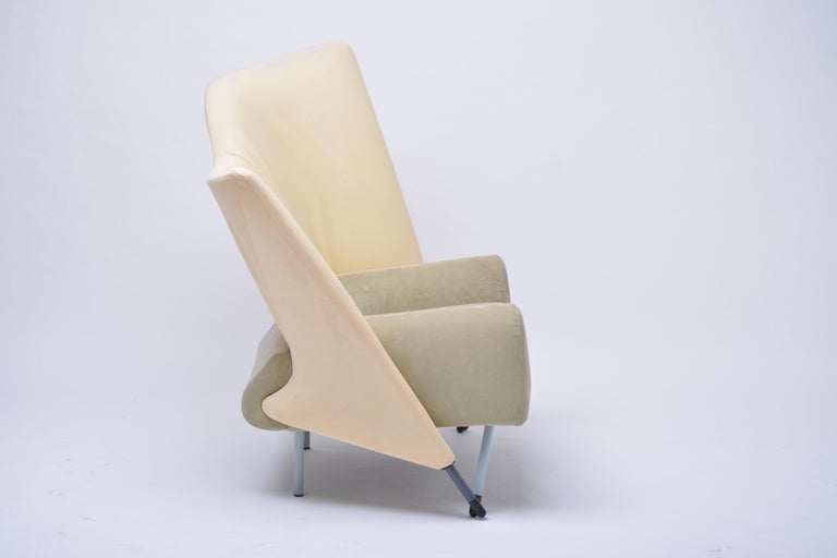 Vintage Torso Lounge Chair by Paolo Deganello for Cassina, 1982 In Good Condition For Sale In Berlin, DE