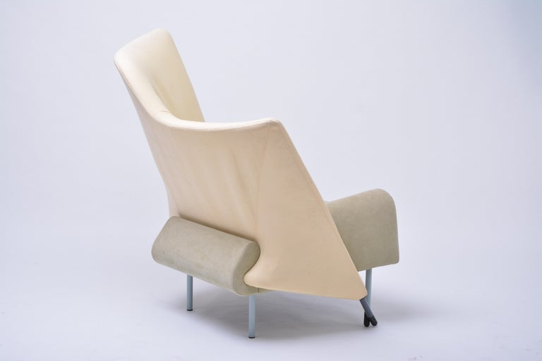 Vintage Torso Lounge Chair by Paolo Deganello for Cassina, 1982 For Sale 1