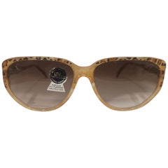 Vintage tortoise yellow sunglasses