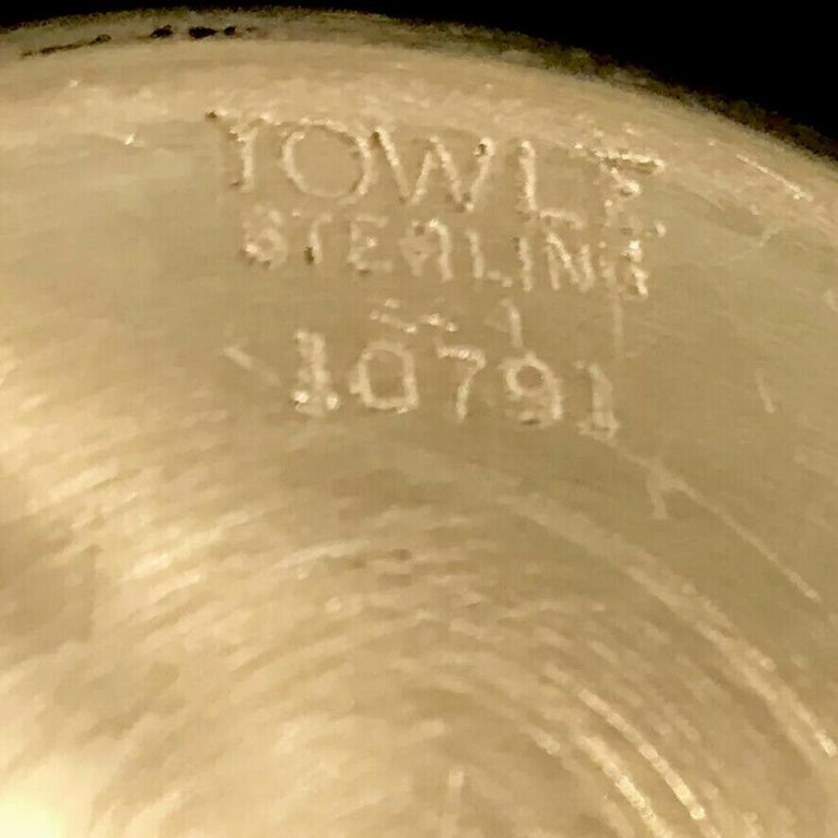 Vintage Towle Sterling Silver Child Baby Cup Estate Find For Sale 1