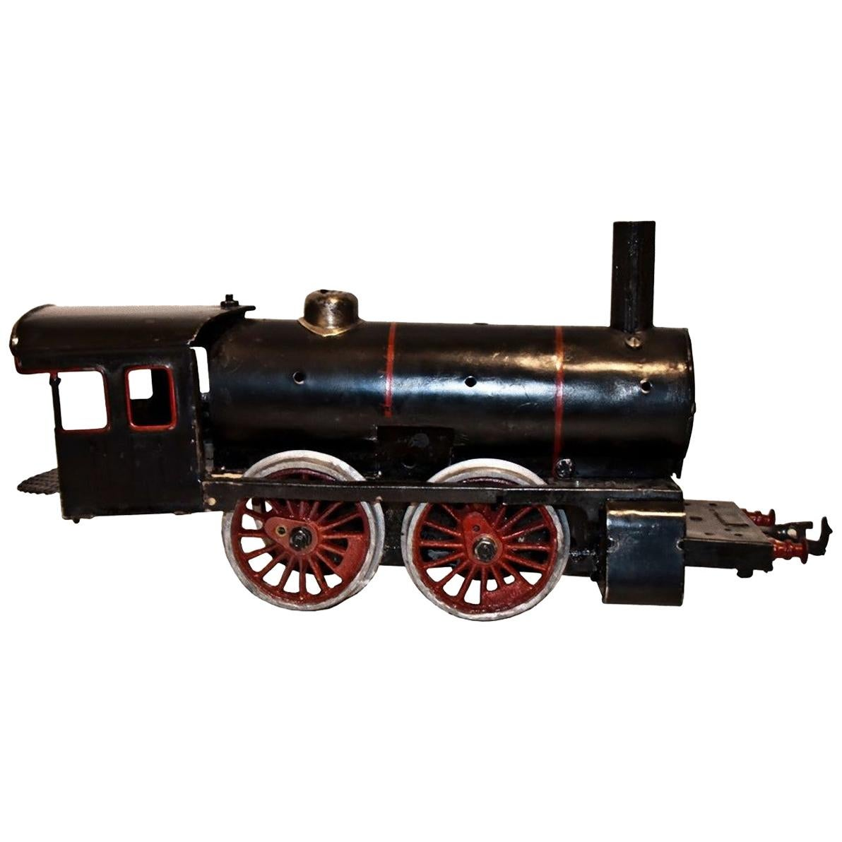 Vintage Toy, Black Train Locomotive