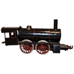 Vintage Toy, Black Train Locomotive