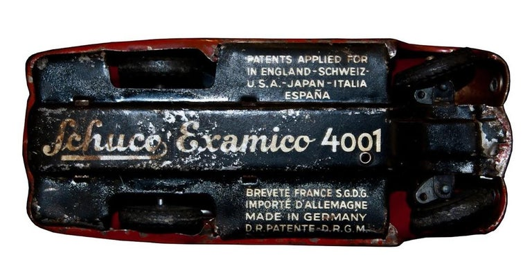 Vintage Toy, Schuco Examico 4001 Car, 1950s In Fair Condition For Sale In Roma, IT