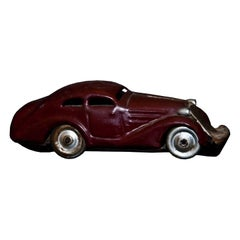 Vintage Toy, Schuco Patent 1001 Car, Made in Germany, 1940s