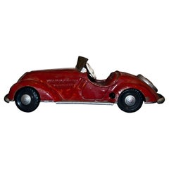 Vintage Toy, Wind Up Big Size Car, Mid-20th Century