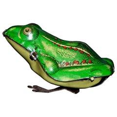 Vintage Toy, Wind Up Frog