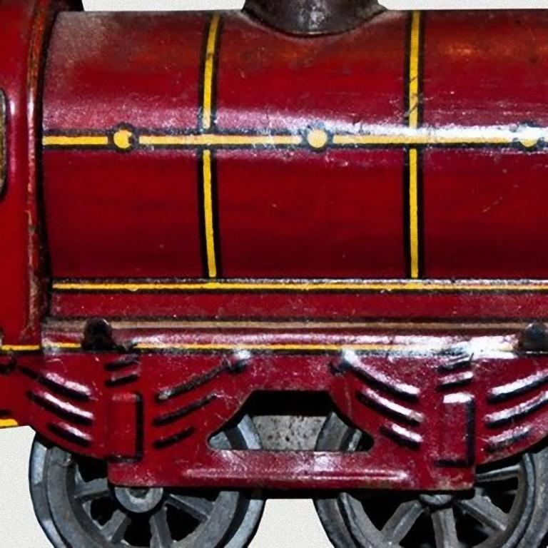 English Vintage Toy, Wind up Locomotive Wells-Brimtoy 7040, by Wells-Brimtoy, 1930s For Sale