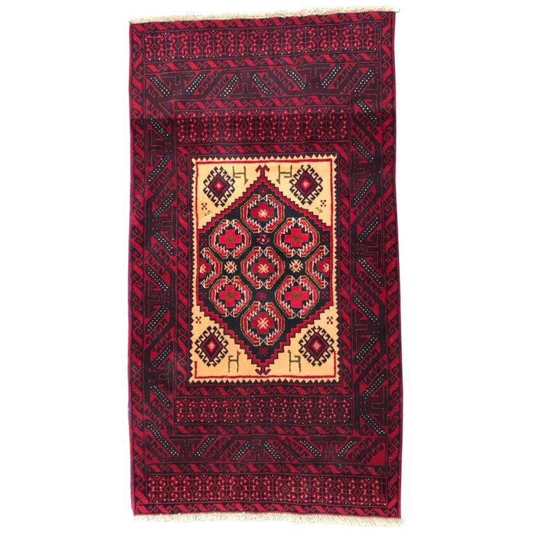 Antique Afghan Rugs: Vintage Traditional Belutch Afghan Rug For Sale At 1stdibs