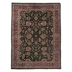 Vintage Traditional Indo-Persian Area Rug Medieval Renaissance Style