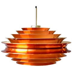Vintage Trava Pendant Lamp by Carl Thore for Granhaga, 1960s