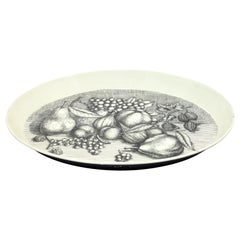 Vintage Tray with Fruit Motif by Fornasetti, 1970s