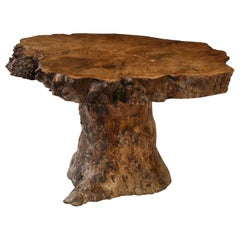 Vintage Tree Trunk Coffee Table