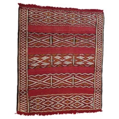 681 -  Vintage Tribal African Rug, 20th Century