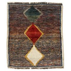 Vintage Tribal Geometric Design Rug