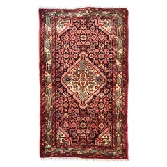 Vintage Tribal Kurdish Rug