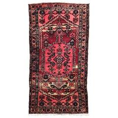 Vintage Tribal Kurdish Rug