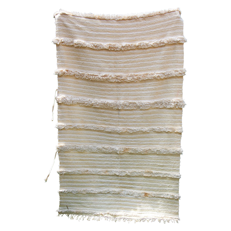Vintage Tribal Moroccan Handcrafted Wedding Blanket Throw