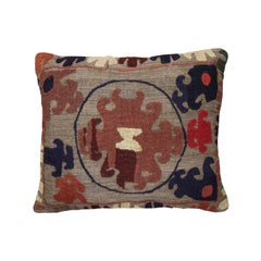 Vintage Tribal Suzani Cushion Cover Pillow Handmade Wool Scatter Cushion