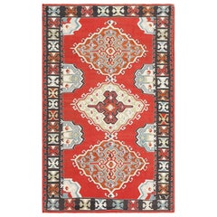 Vintage Tribal Turkish Kilim Rug