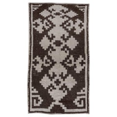Vintage Tribal Turkish Tulu Rug
