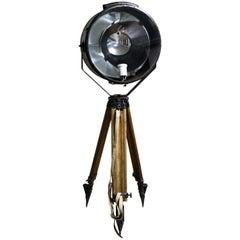 Vintage Tripod Floor Lamp, 1960s