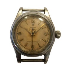 Vintage Tudor Rolex Wristwatch Without Straps