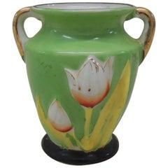 """Vintage """"Tulip"""" Asian Lusterware Bud Vase"""