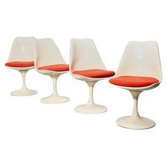Vintage Tulip Dining Chairs in the Style of Eero Saarinen
