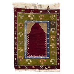 Vintage Tulu Rug with Archway Design