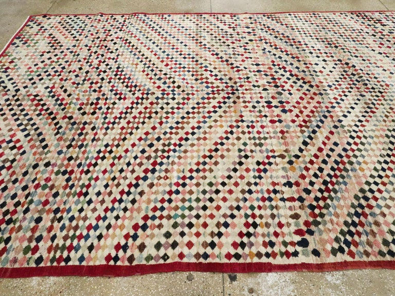 Vintage Turkish Anatolian Carpet For Sale 4