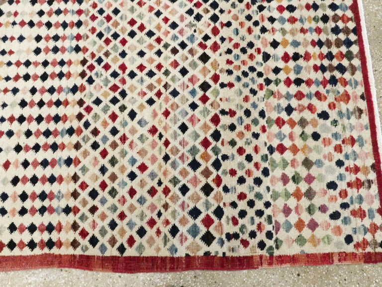 Vintage Turkish Anatolian Carpet For Sale 7
