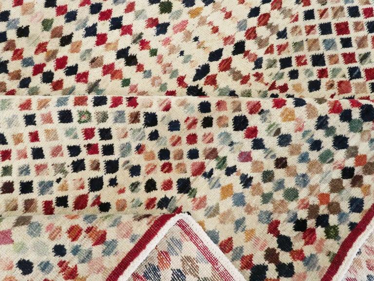 Vintage Turkish Anatolian Carpet For Sale 8