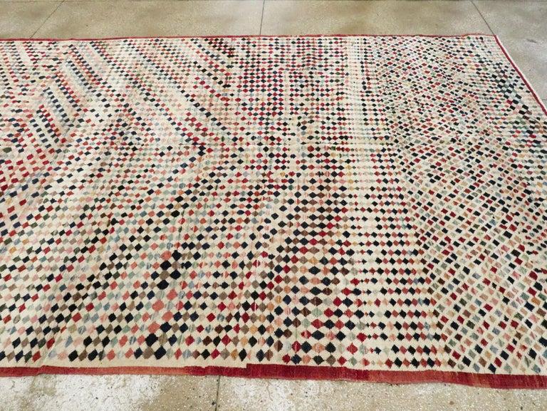 Vintage Turkish Anatolian Carpet For Sale 6