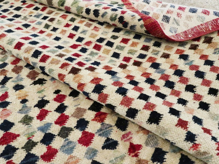 Vintage Turkish Anatolian Carpet For Sale 12