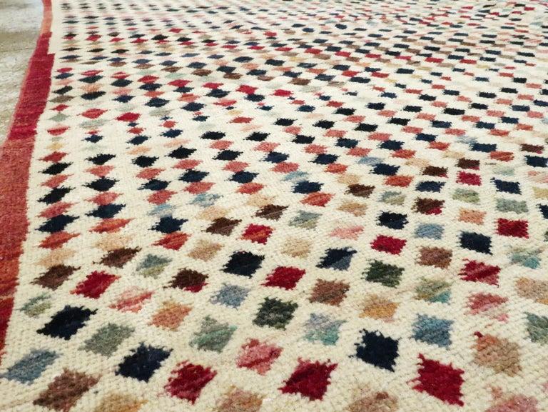 20th Century Vintage Turkish Anatolian Carpet For Sale