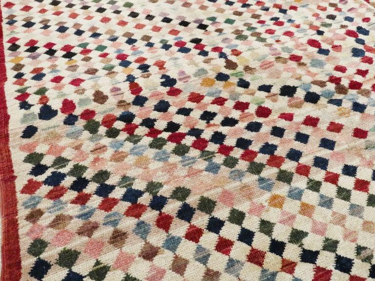 Wool Vintage Turkish Anatolian Carpet For Sale