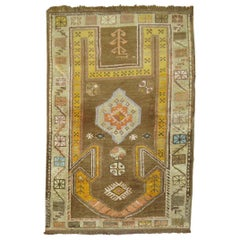 Vintage Turkish Anatolian Prayer Rug