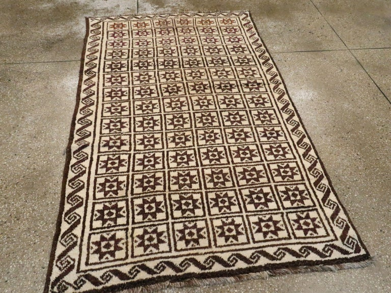 20th Century Vintage Turkish Anatolian Rug For Sale