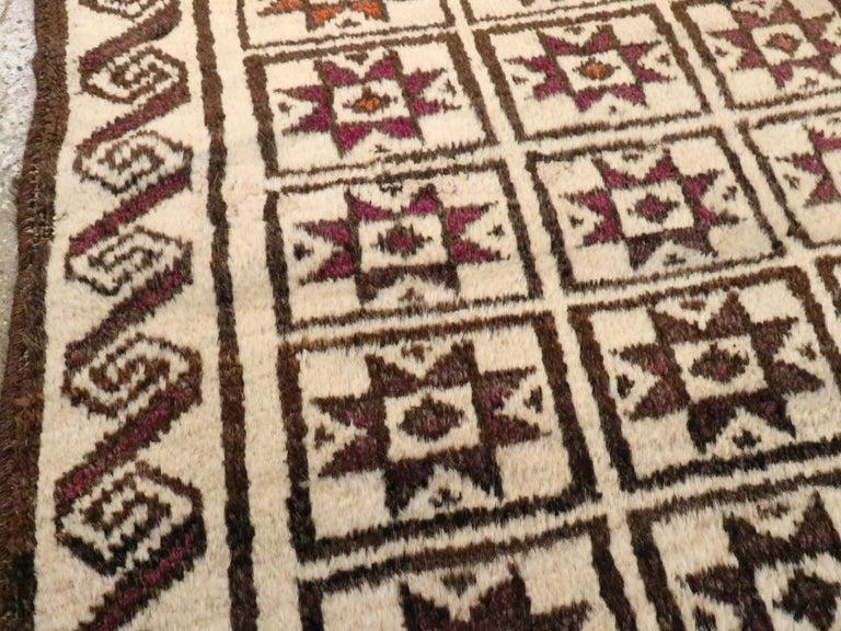 Wool Vintage Turkish Anatolian Rug For Sale